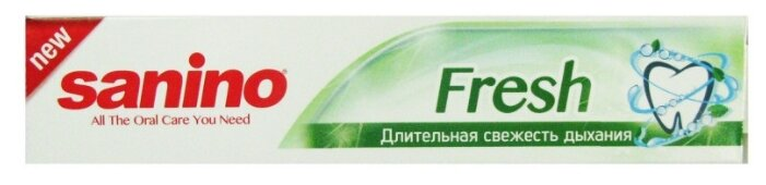 Зубная паста Sanino Fresh