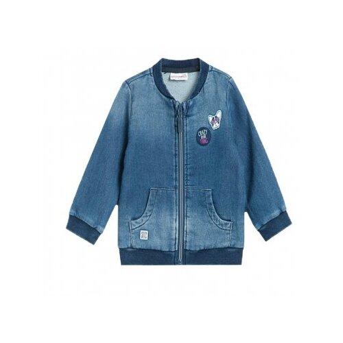 Фото - Олимпийка COCCODRILLO размер 86, голубой брюки coccodrillo little explorer z19119601lie размер 86 синий