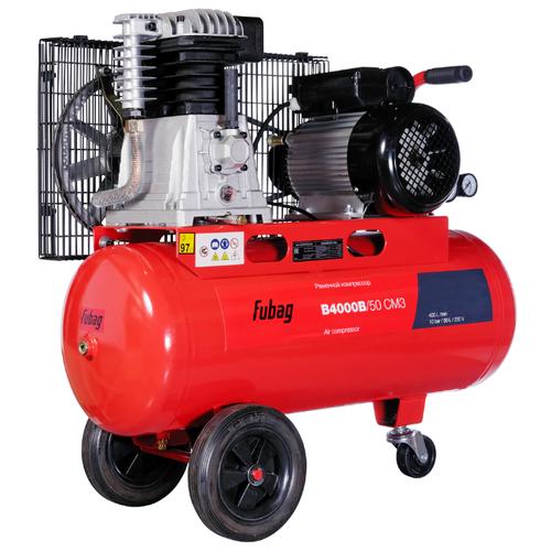 Компрессор масляный Fubag B4000B/50 CM3, 50 л, 2.2 кВт компрессор fubag b 2800 b 100 cm3