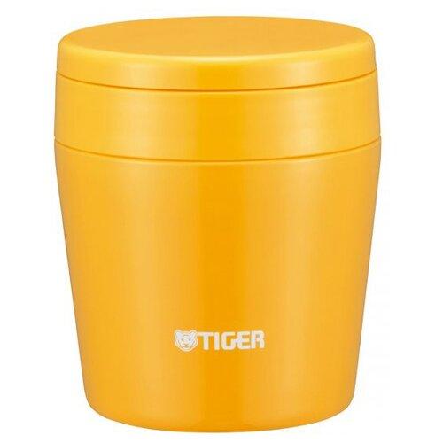 Термос для еды TIGER MCL-B038, 0.38 л yellow