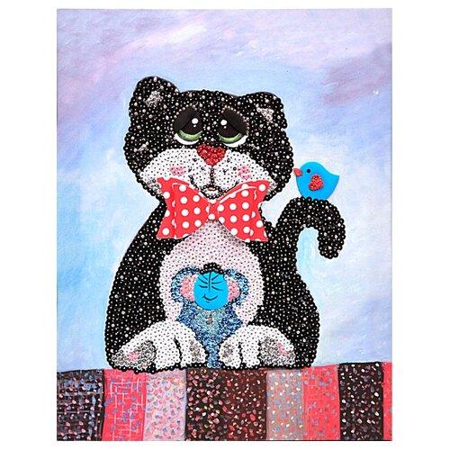 Купить Волшебная Мастерская Мозаика из пайеток Кошки-мышки МХ-19, Картины из пайеток