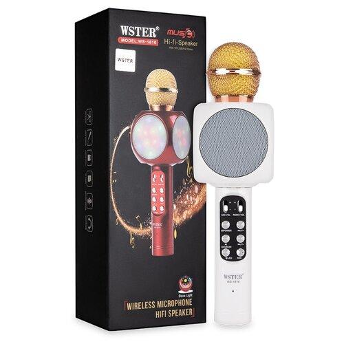 Караоке микрофон WSTER WS-1816 белый