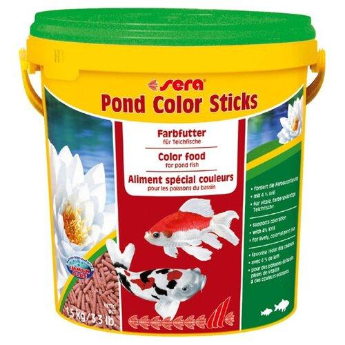 Сухой корм для рыб Sera Color Sticks 10000 мл 1500 г