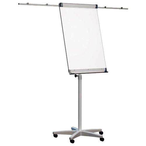 Купить Доска-флипчарт магнитно-маркерная 2x3 на колесах TF02/2011 (100х70 см) белый, Доски