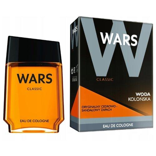 Одеколон WARS Wars Classic Energizing, 90 мл