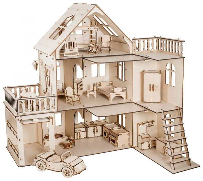 Купить DHP002 Чудо-дом с мебелью Чудо-дерево по низкой цене с доставкой из Яндекс.Маркета (бывший Беру)