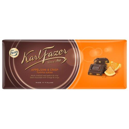 Шоколад Fazer темный со вкусом апельсина 47% какао, 200 г цена 2017