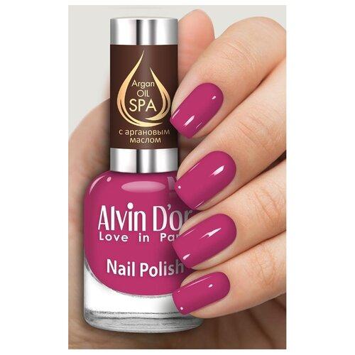 Лак Alvin D'or SPA Argan Oil, 15 мл, оттенок 5013 лак alvin d or spa argan oil 15 мл оттенок 5036