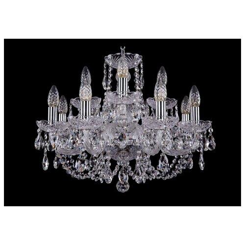 Люстра Bohemia Ivele Crystal 1406 1406/8+4/195/Ni, E14, 480 Вт люстра bohemia ivele crystal 1716 8 8 4 265b gb