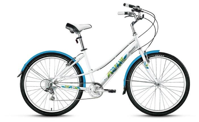 """Городской велосипед Forward Azure 26 1.0 (2019) белый 17"""""""