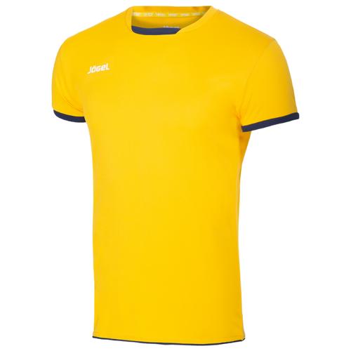 Купить Футболка Jögel размер YL, желтый/темно-синий, Футболки и топы