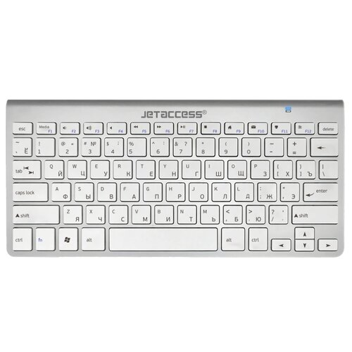 цена на Клавиатура Jet.A SlimLine K9 BT Silver Bluetooth