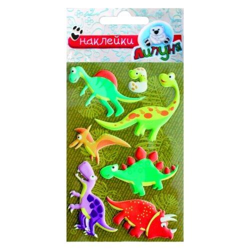 Купить Зефирные наклейки Динозавры-2 , Липуня, Наклейки