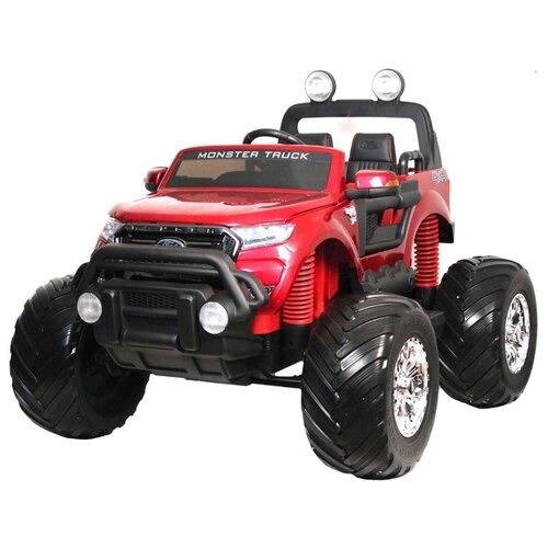 Купить RiverToys Автомобиль Ford Ranger Monster Truck 4WD, вишневый глянец, Электромобили