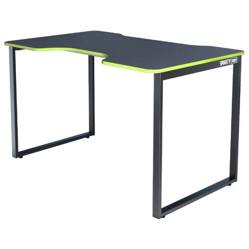 Игровой стол Gravitonus Smarty One, 120х75 см, цвет: черный каркас/черно-зеленый