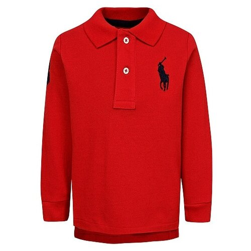 Купить Поло Ralph Lauren размер 74, красный, Футболки и рубашки