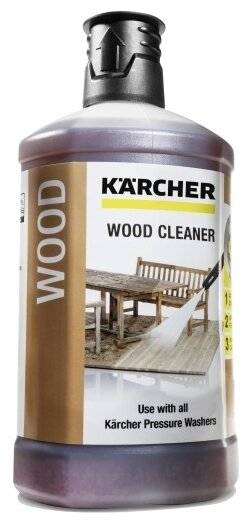 Очиститель KARCHER Wood Cleaner 3 in 1 RM 612
