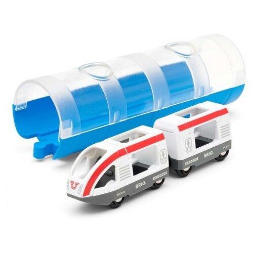 Купить Brio Поездной состав и тоннель, 33890, Наборы, локомотивы, вагоны