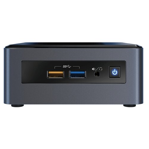 Неттоп Intel NUC 8 Home (NUC8i3CYSM) Intel Core i3-8121U/8 ГБ/1024 ГБ HDD/AMD Radeon 540/Windows 10 Home серый/черный