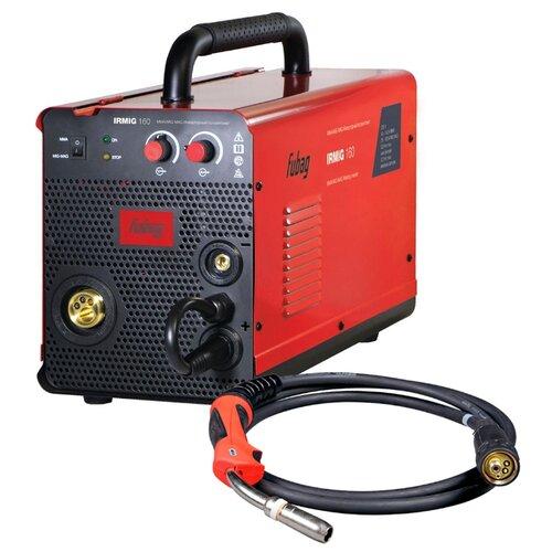Сварочный аппарат Fubag IRMIG 160 (31431) + горелка 38440 (MIG/MAG, MMA) сварочный аппарат fubag ir 160 mma