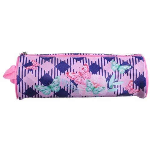 Купить Clipstudio Пенал Волшебные цветы (238-088) фиолетовый, Пеналы
