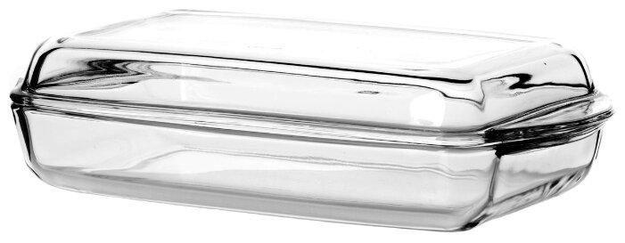 Форма для микроволновой печи стеклянная Pasabahce 59009 (35х19х8 см)