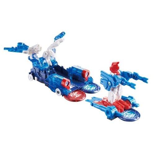 Купить Трансформер РОСМЭН Дикие Скричеры. Турбо-Скричер 2-в-1 Роялис (37760) синий/белый/красный, Роботы и трансформеры