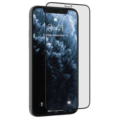 Защитное стекло uBear Nano Shield для Apple iPhone 11/Xr черный стекло защитное rockmax iphone xr 3d черная рамка