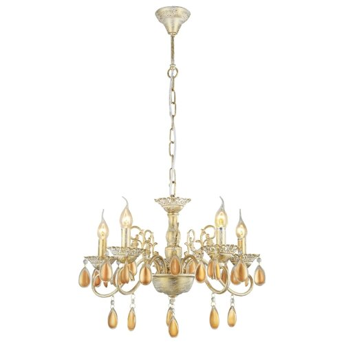 Люстра Arte Lamp Ciondolo A5676LM-5WG, E14, 200 Вт потолочная люстра dio d arte cremono e 1 2 24 200 n