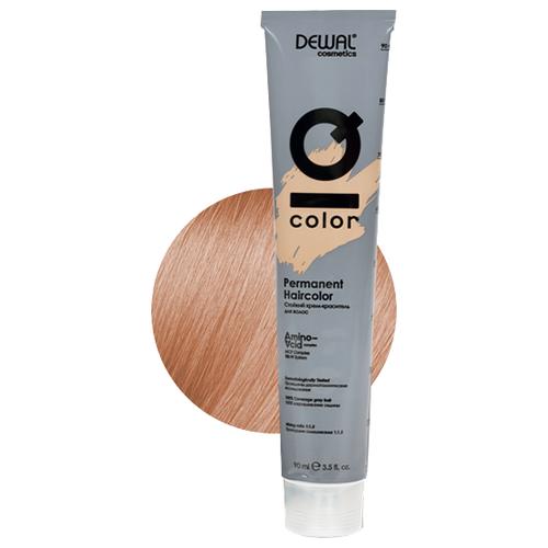 Фото - Dewal Cosmetics Краситель перманентный IQ COLOR, 10.04 Extra light natural copper blonde, 90 мл dewal перманентный краситель iq color 9 44