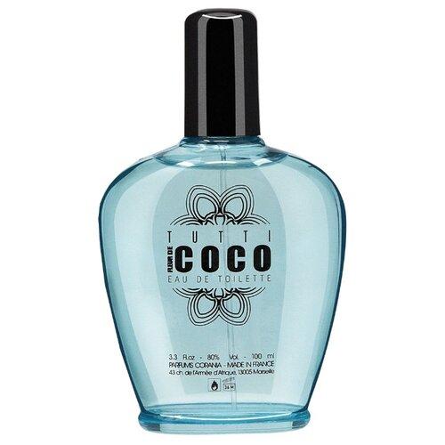Купить Туалетная вода Parfums Corania Tutti Fleur de Coco, 100 мл