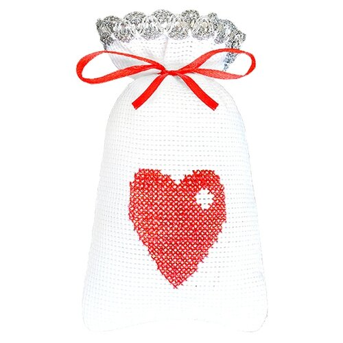 Hobby & Pro Набор для вышивания От всего сердца 15 х 9 см (М-004)
