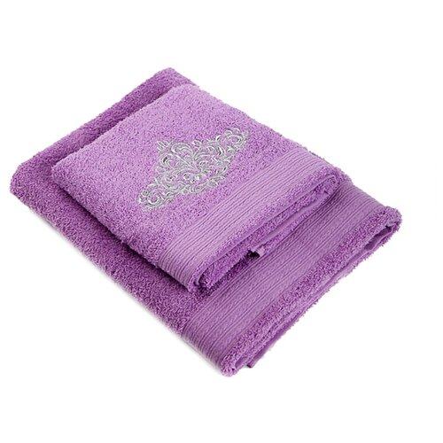 La Pastel Набор полотенец Сильвер сиреневый