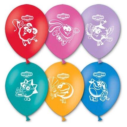 Набор воздушных шаров Belbal 1103-0093 Смешарики (50 шт.)