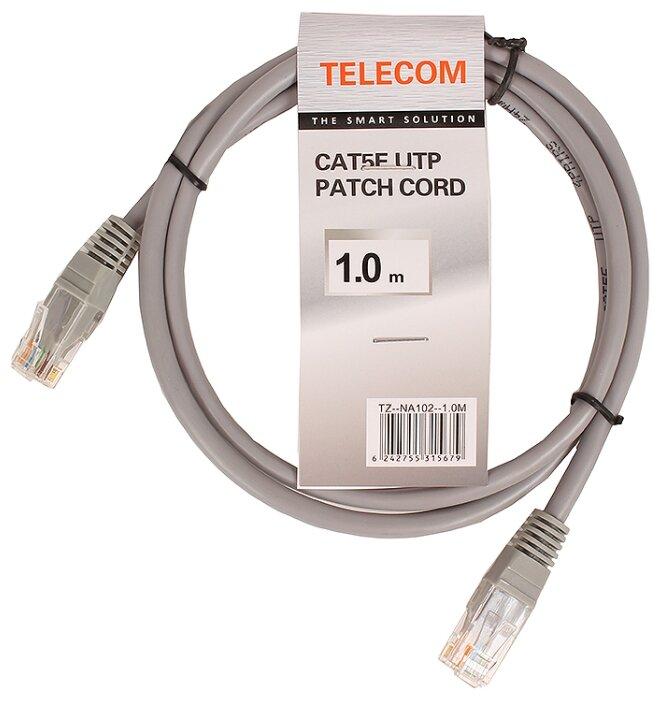 Патч-корд Telecom NA102--1M RJ-45 (M) 1 м CAT5e