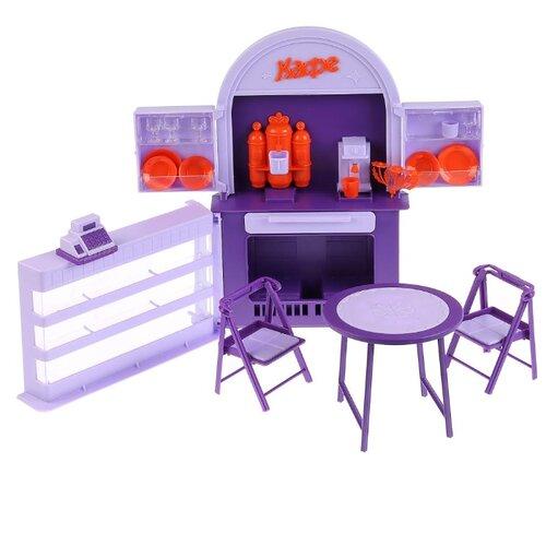 Купить Мебель для кукол Огонек Кафе-бар Огонек (С-1501), ОГОНЁК