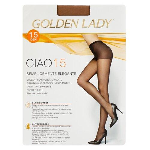 цена Колготки Golden Lady Ciao 15 den, размер 4-L, melon (бежевый) онлайн в 2017 году