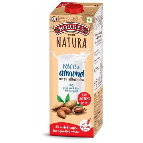 Рисовый напиток Borges Natura Рис и миндаль 1 л рис л нацисты предостережение истории