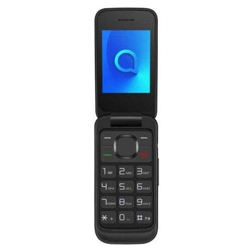 Телефон Alcatel 2053D черный мобильный телефон alcatel 2053d onetouch black