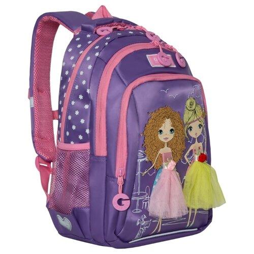 Купить Grizzly рюкзак (RG-966-3), фиолетовый, Рюкзаки, ранцы