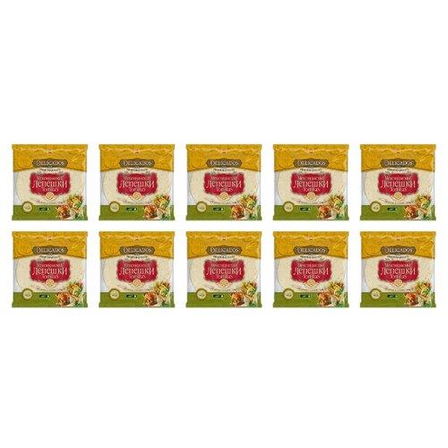 Delicados Лепешки Tortillas пшеничные мультизлаковые бездрожжевые 10 шт 400 г