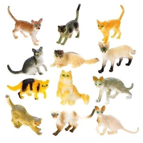 Купить Фигурки Наша игрушка Кошки NC01-2, Игровые наборы и фигурки