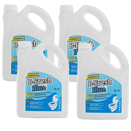 Thetford Туалетная жидкость B-Fresh Blue, 4шт 2 л 4 шт.