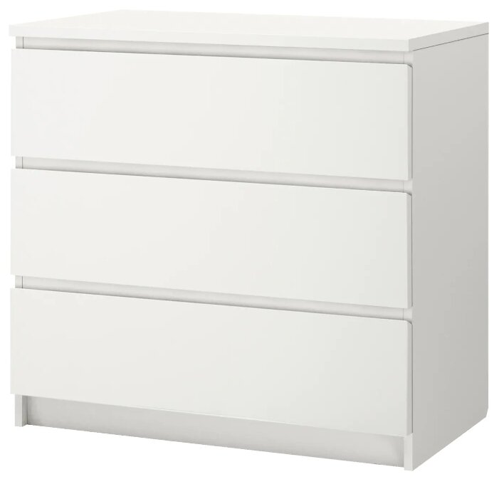 Комод IKEA МАЛЬМ 3 ящика