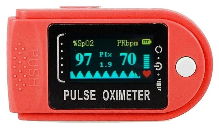 Купить Пульсоксиметр xDevice iFeelGood-NB-red, уровень кислорода, пульс и Индекс Перфузии по низкой цене с доставкой из Яндекс.Маркета