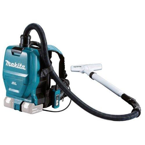 Профессиональный пылесос Makita DVC260Z зеленый