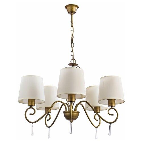 цена на Люстра Arte Lamp Carolina A9239LM-5BR, E27, 200 Вт