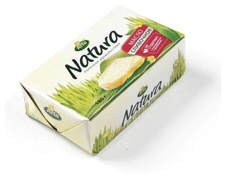 Arla Natura Масло сливочное несоленое 82%, 180 г