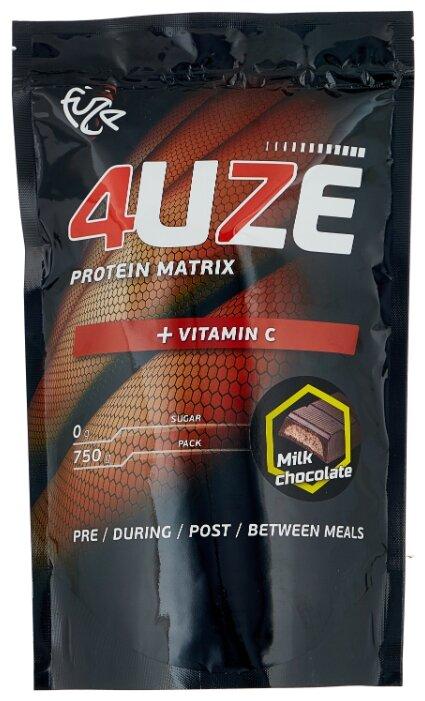 Купить Протеин Fuze Protein Matrix + Vitamin C (750 г) молочный шоколад по низкой цене с доставкой из Яндекс.Маркета (бывший Беру)