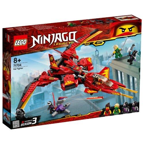 Купить Конструктор LEGO Ninjago 71704 Истребитель Кая, Конструкторы